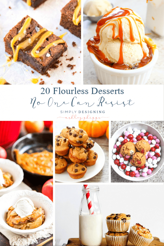 20 Flourless Desserts No One Can Resist