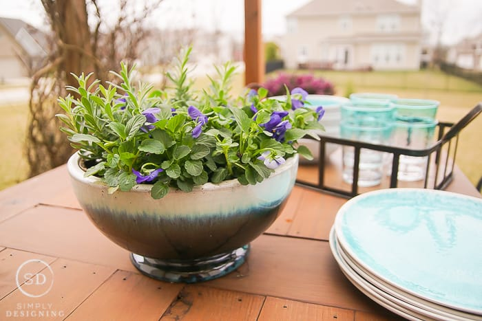 Farmhouse Planter Bowl