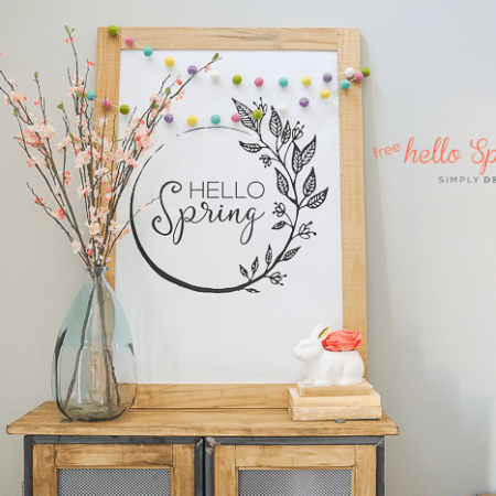 Free Hello Spring Print :: Large