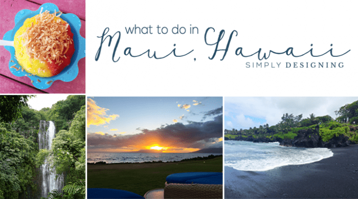 What to do in Maui Hawaii if you are there for 4 days