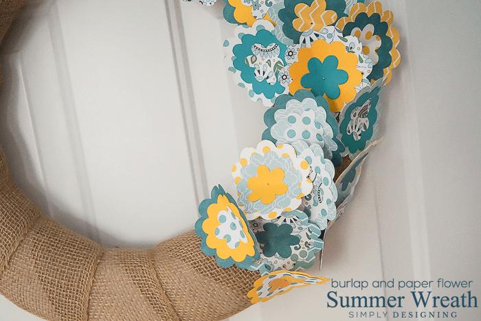 Flower Summer Wreath