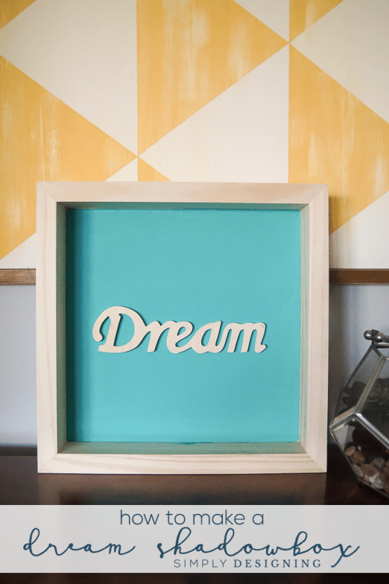 How to make a Dream Shadowbox Decor
