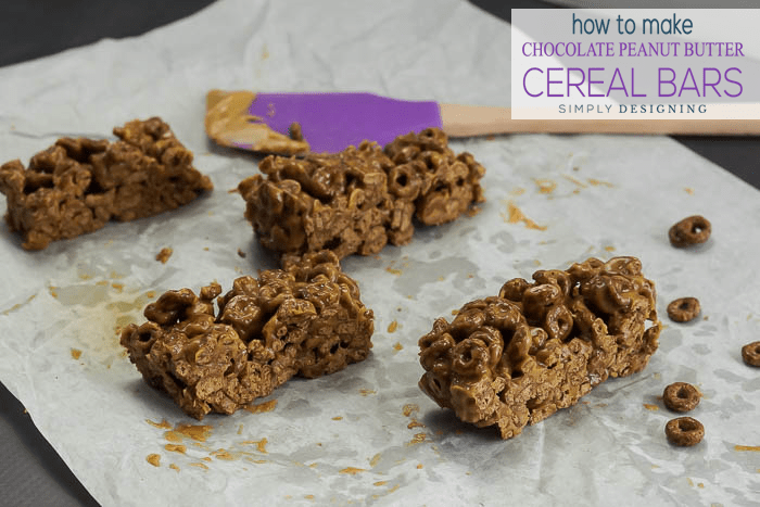 How to make chocolate peanut butter cereal bars how to make cereal bars ccuart Choice Image