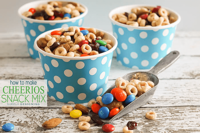 How to make Cheerios Snack Mix