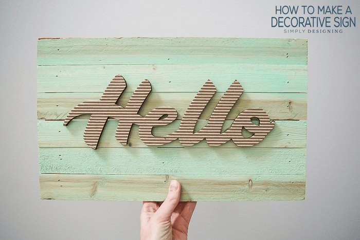 How To Make A Decorative Sign Fascinating Make Your Own Decorative Sign