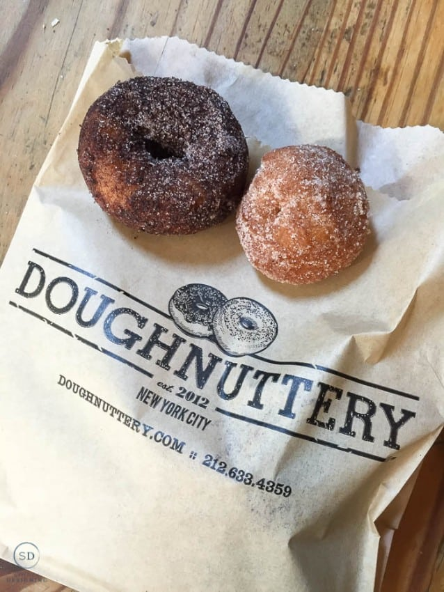 The Doughnuttery Chelsea Market NYC