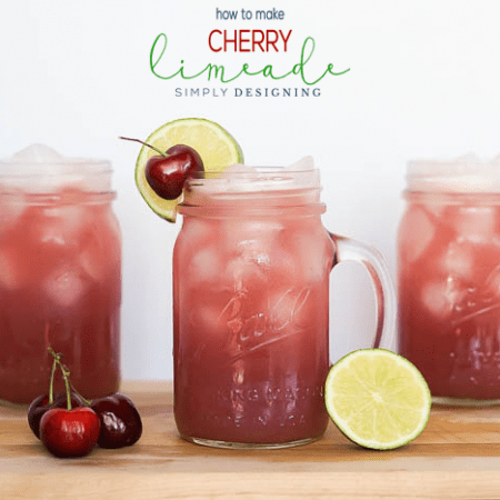Easy to Make Homemade Cherry Limeade Recipe