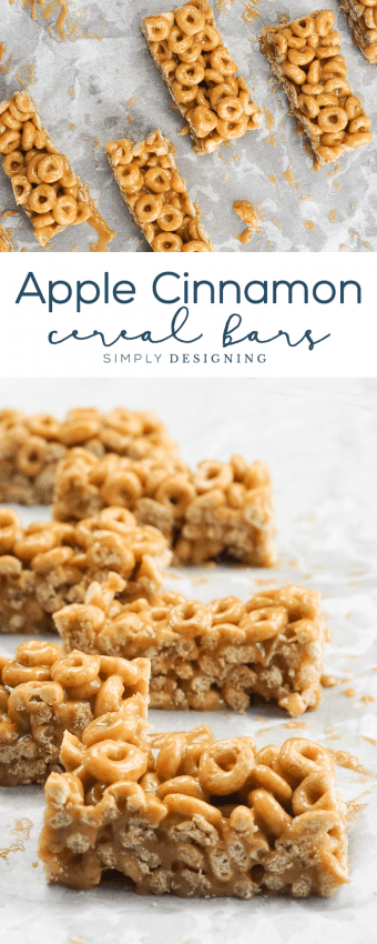 Delicious Apple Cinnamon Cereal Bar Recipe