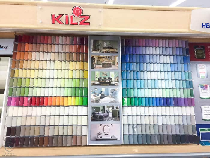 Kilz paint color choices