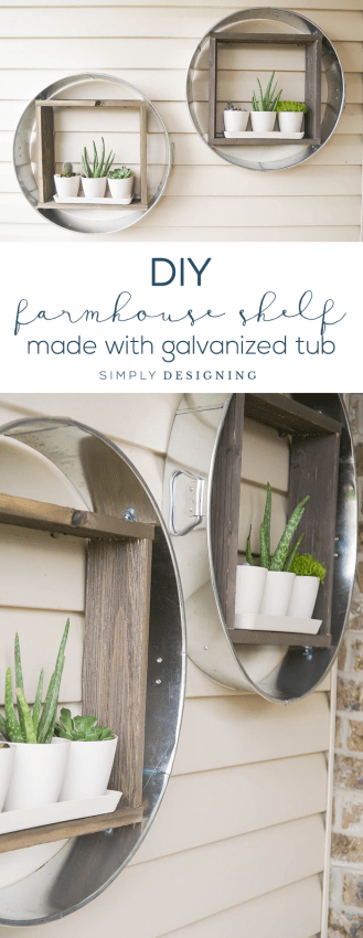 How to Make a Farmhouse Shelf