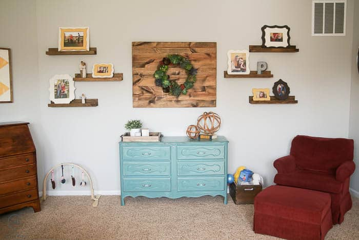 Inexpensive Family Room Update