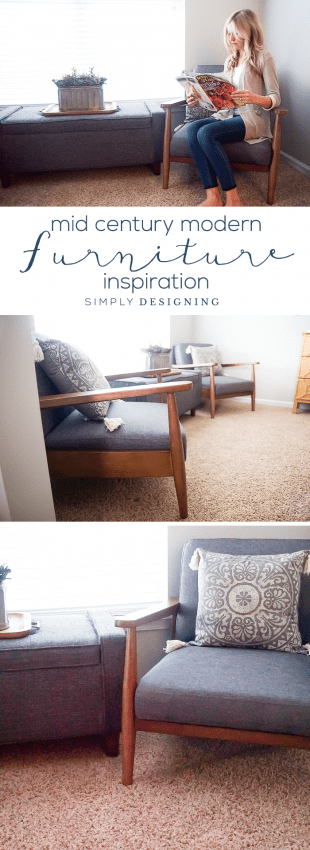 Mid Century Modern Furniture Update and Inspiration