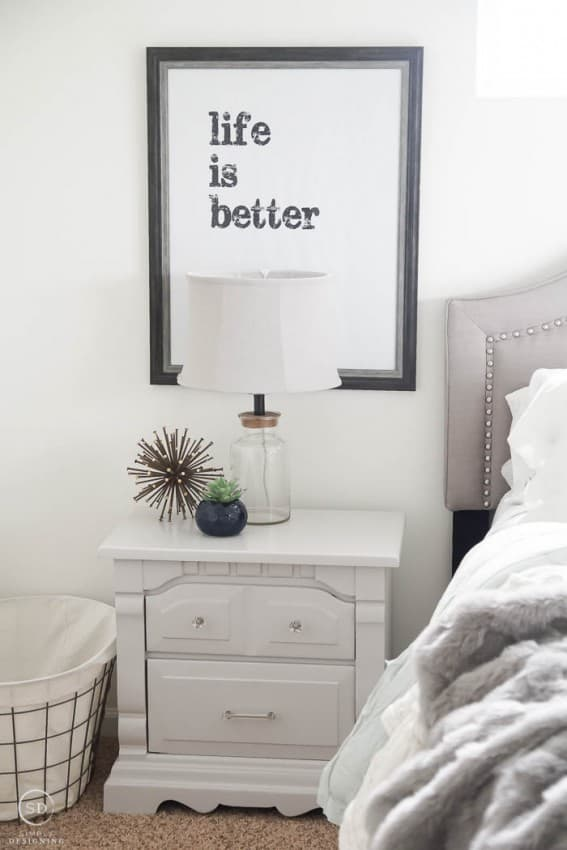 Grey Nightstands