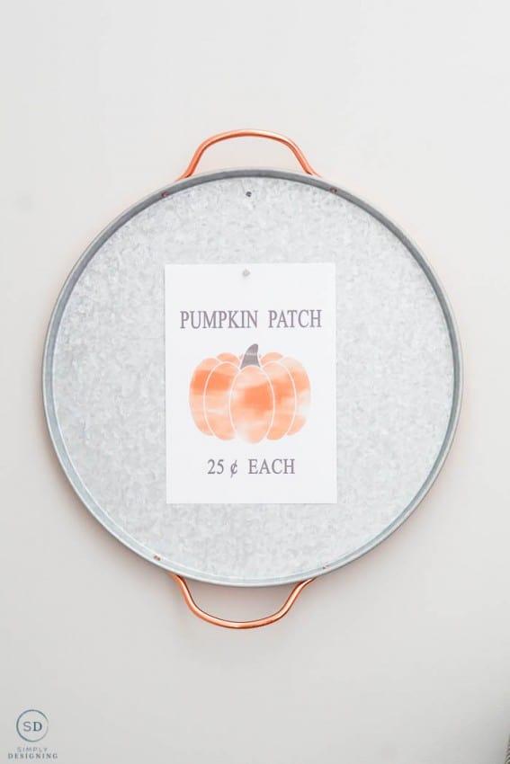 Free Fall Pumpkin Patch Fall Print