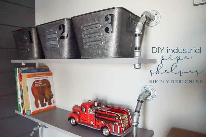How to make Industrial Shelves