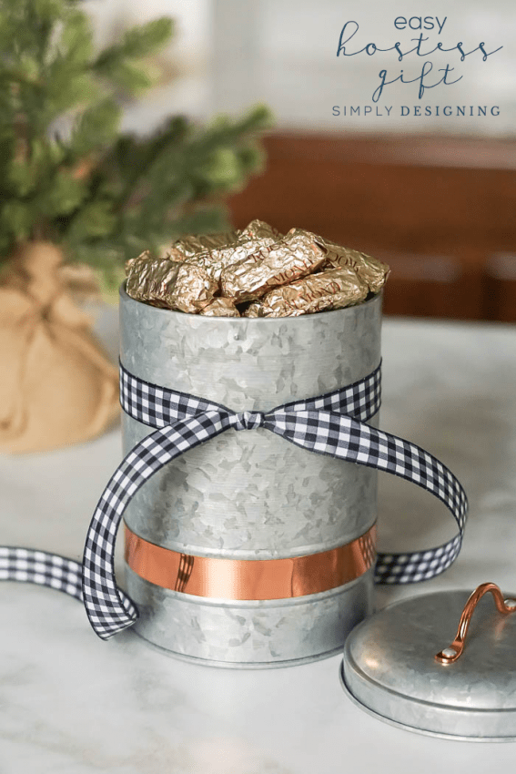A simple and perfect Hostess Gift