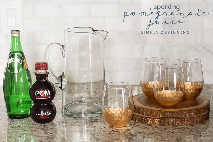 Holiday Drink Recipe - Mocktail - Christmas Drink Recipe