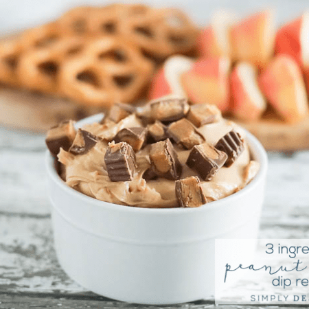 Peanut Butter Candy Dip Recipe