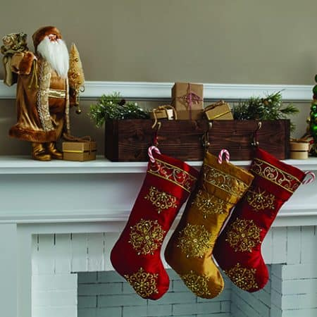 Make a Stocking Hanger Box that is Perfect for the Holidays