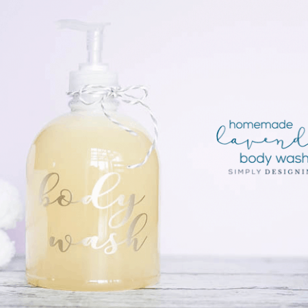 DIY Lavender Body Wash Recipe