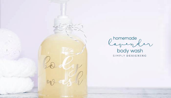 DIY Lavender Body Wash Recipe