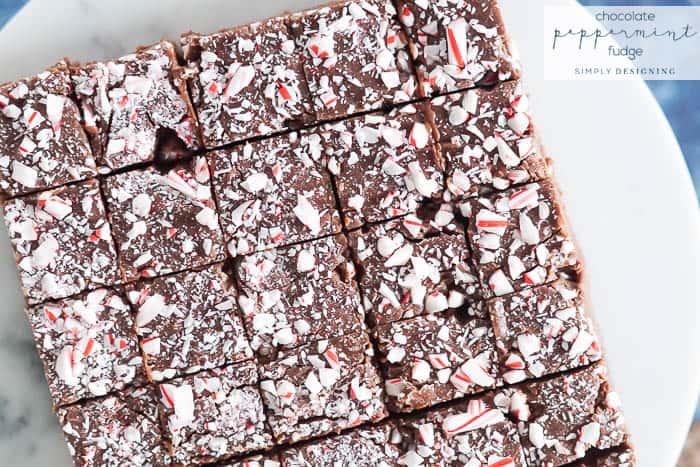 Easy Homemade Chocolate Peppermint Fudge Recipe