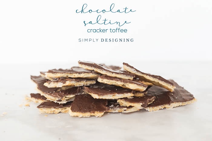 Homemade Chocolate Saltine Cracker Toffee Recipe