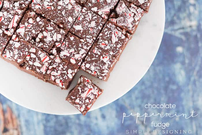 Homemade Peppermint Fudge Recipe
