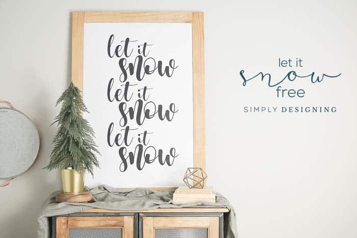Free Winter Print