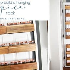 How to Build a DIY Spice Rack