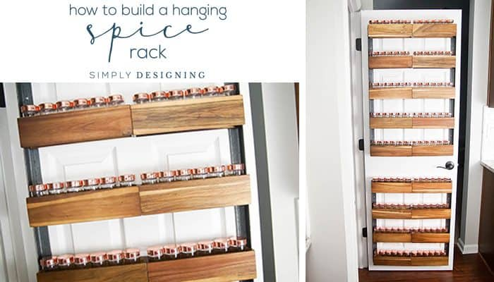 How to Build a DIY Spice Rack