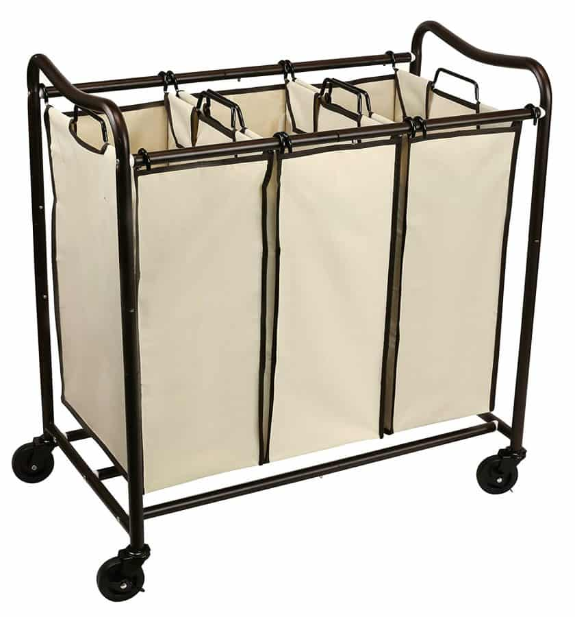 Farmhouse Laundry Sorter