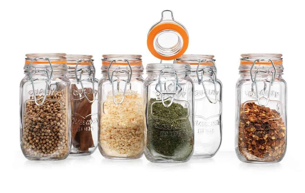 Farmhouse Spice Jars