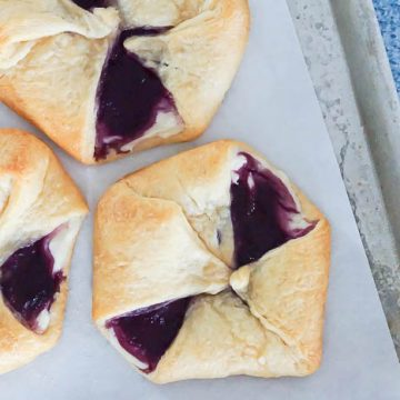Crescent Rolls Berry Cheese Danish Recipe