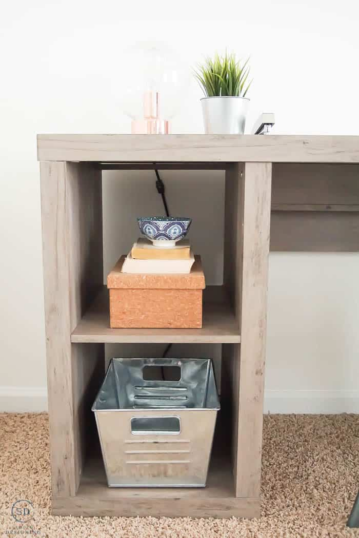Farmhouse Office Desk and decor