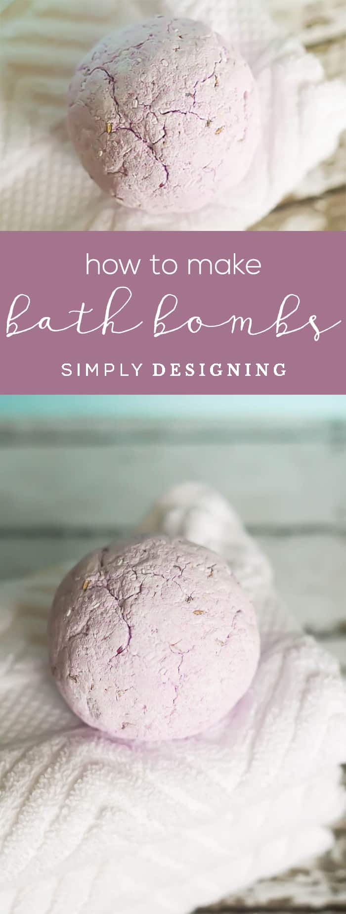 How to Make Bath Bombs - DIY Bath Bombs - Bath Bomb Recipe