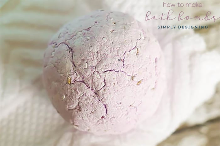 How to Make Bath Bombs - easy bath bomb recipe
