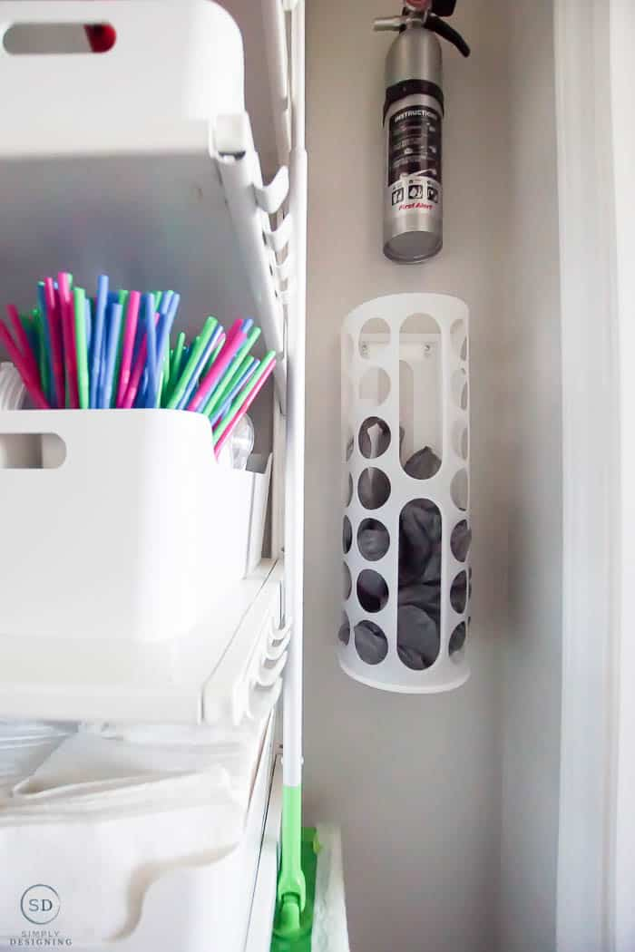 How To Organize A Closet Under The Stairs Amp Pantry