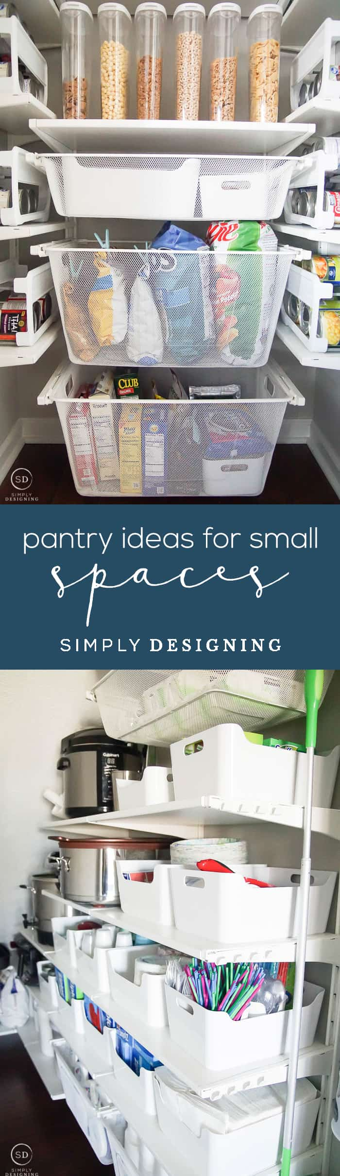 How to Organize a Closet Under the Stairs and DIY Pantry Organization Ideas - pantry ideas for small spaces