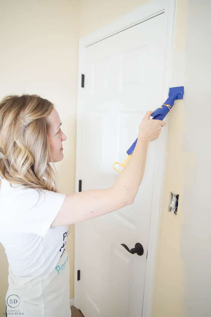 Painting Baseboards While Doign Flooring