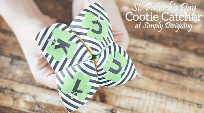 St. Patrick's Day Cootie Catcher