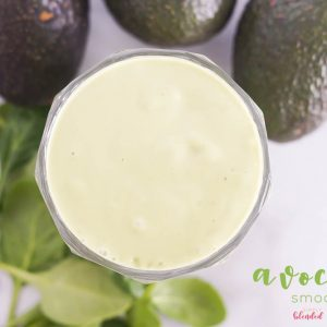 Avocado Smoothie - a delicious healthy smoothie