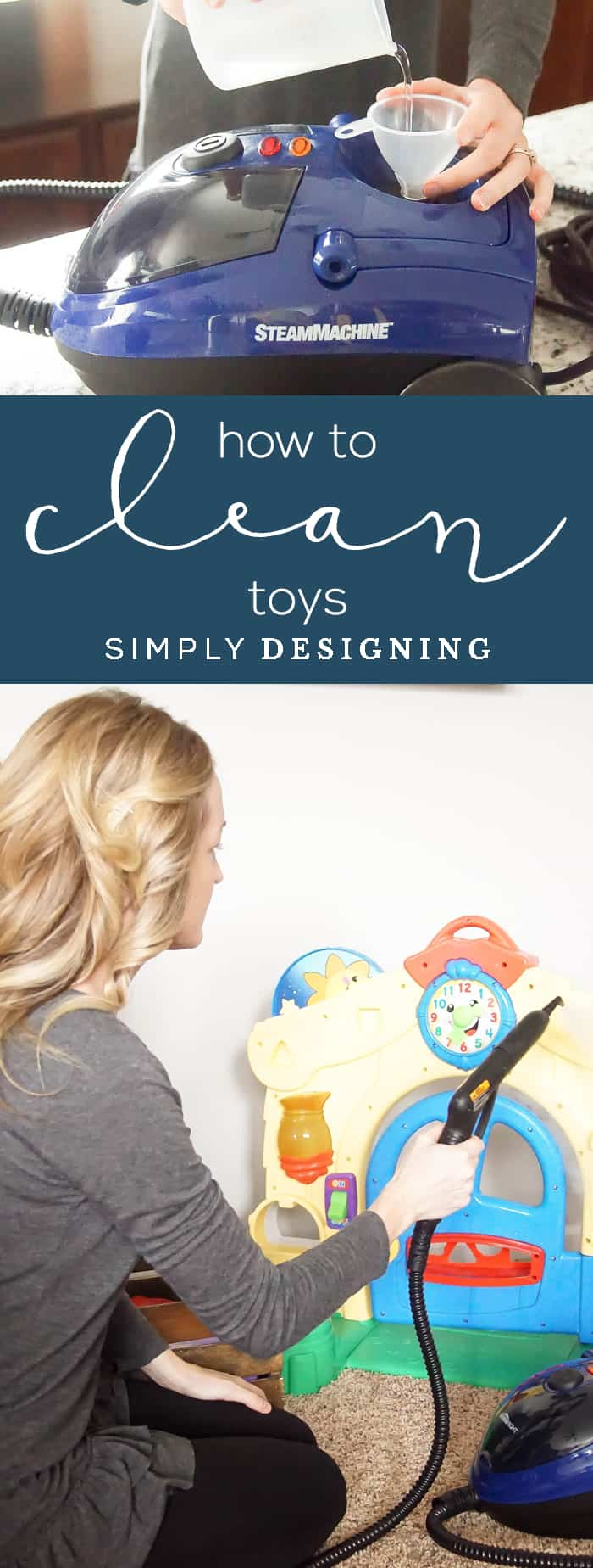 How to Clean Toys - The Best Way to Clean Baby Toys - How do you sanitize toys - How to clean baby toys that cant be washed