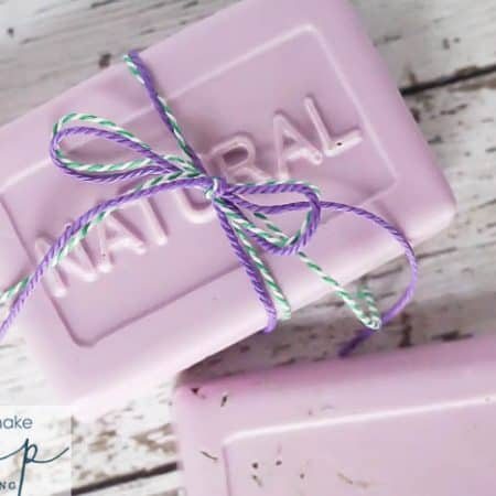 How to Make Soap - it is easy to make your own soap and I am showing you step by step how to make bar soap