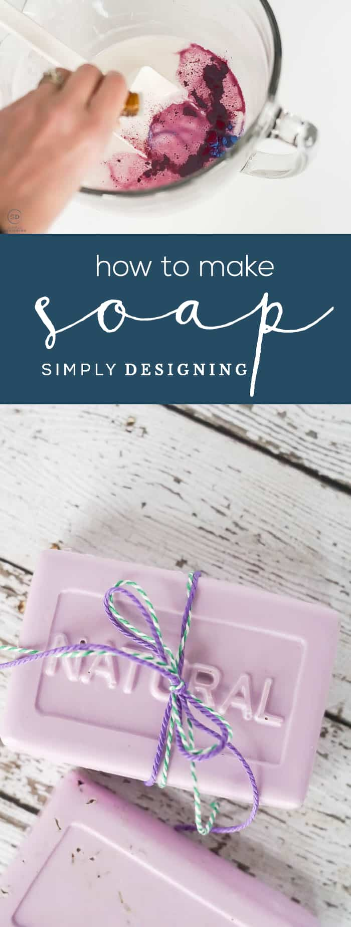 How to make Soap - Homemade Lavender Soap with Essential Oils