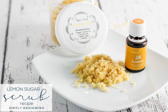 Lemon Sugar Scrub Recipe