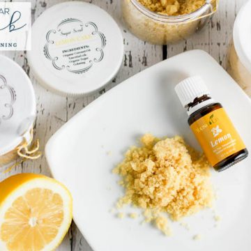 Lemon Sugar Scrub Recipe - DIY Sugar Scrub