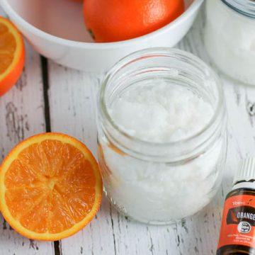 Orange DIY Sugar Scrub Recipe