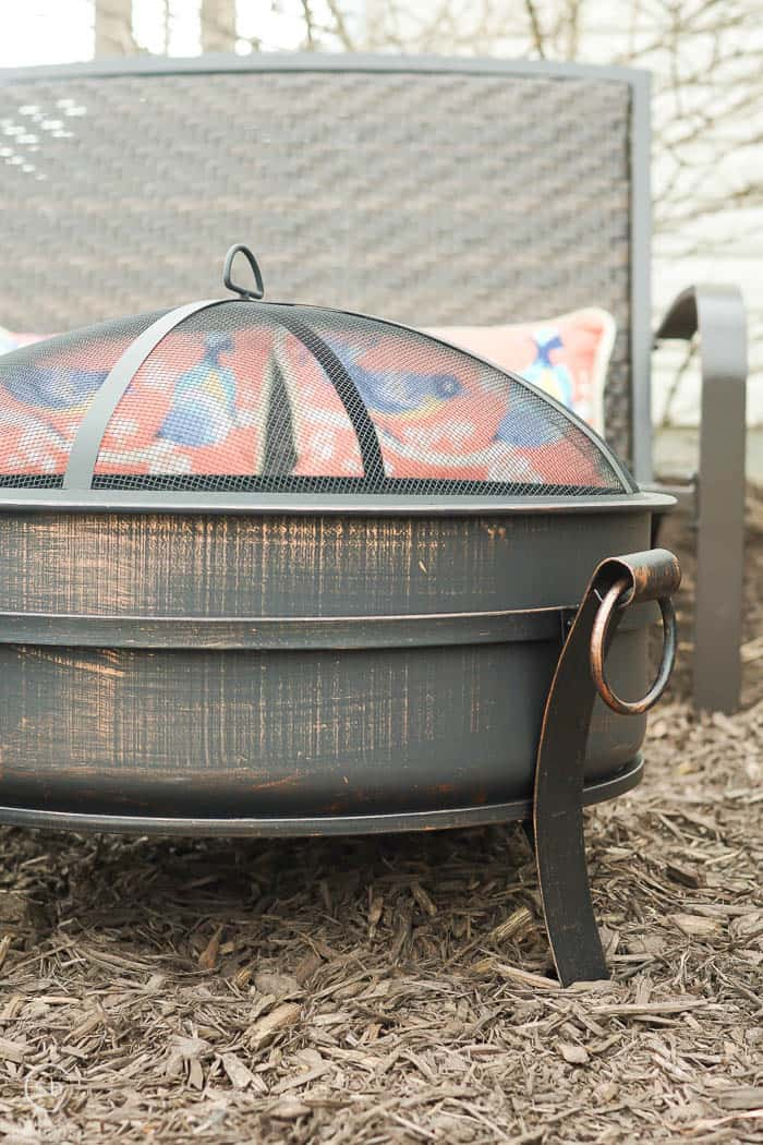 Outdoor Living - Cauldron in Antique Bronze