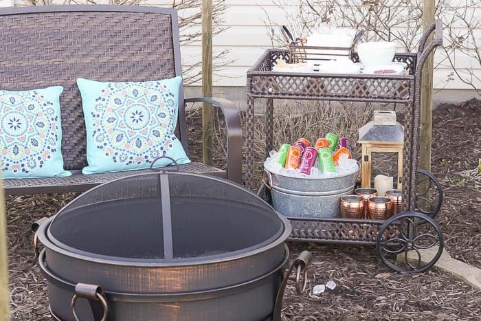 Outdoor Entertaining with Smores